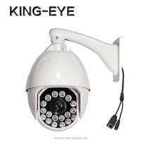CCTV CMOS camera, ip camera 1080p, connected via RJ45 internet wire with 18X zoom