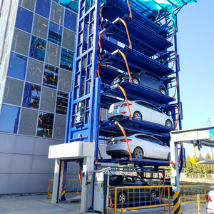 Tower vertical rotary automated car smart parking lift