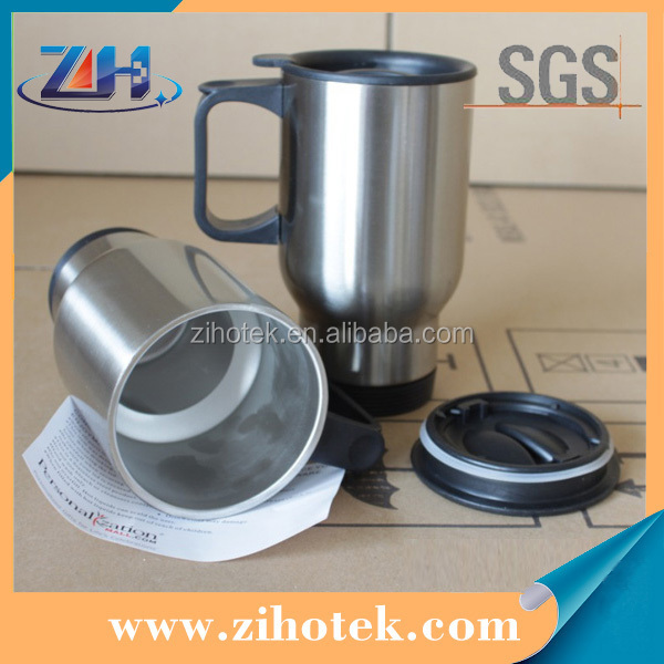 Blank stainless steel cup for sublimation printing photo DIY printing on cups