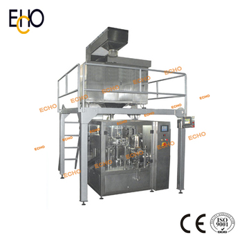 High Speed Premade Bag Grain Packing Machinery