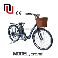 China manufacturer OEM beach cruiser electric bike with 250w brushless motor