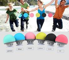 2017 New Design Mushroom Style Wireless Bluetooth Speaker ,Music Mini Speaker Bluetooth With Suction Cup