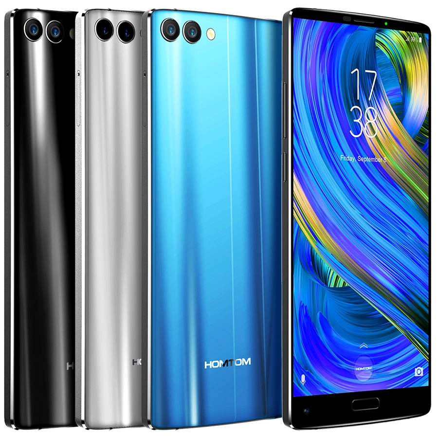 "HOMTOM S9 Plus 5.99"" 18:9 HD+ IPS Mobile Phone 4GB 64GB Front 13MP Back 16MP 4050mAh 8 core Touch ID 4G Smart phone unlocked"