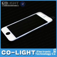Big discount colored for iphone 5 lcd assembly with touch screen and digitizer frame bezel