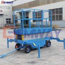 Small electric hydraulic scissor man table lift mechanism