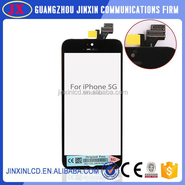 Top quality touch display digitizer assembly for iphone 5 5 lcd screens