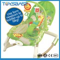 2015 Top sale music and light swing portable rocker chair