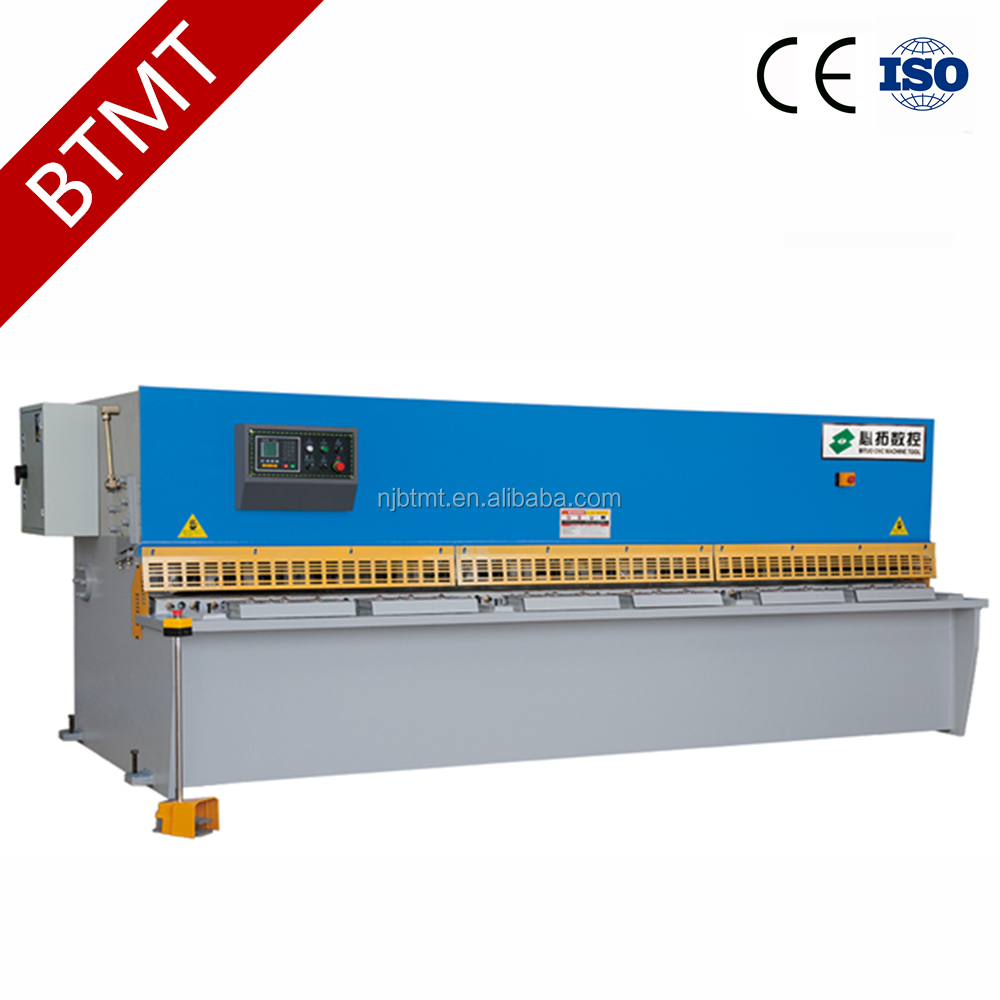 BTMT Brand QC12K-4*2500 shearing machine yangli for sale