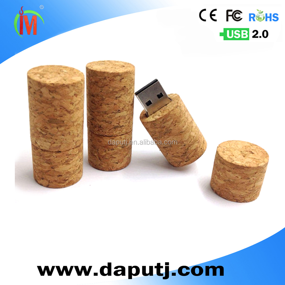 wine bottle cork shape usb pen drive wooden usb memory stick usb thumb drive