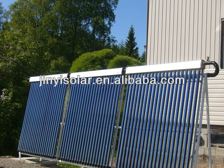 Vacuum Tubes Solar Collectors Water Heating System