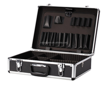 OEM Manufacturer aluminum tool case with customized sponge inside aluminum flight case with adjustable divider