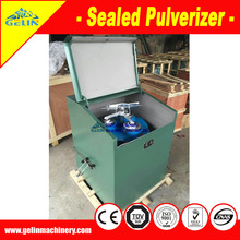 Mining laboratory use sample Sealed pulverizer for rock minerals grinding