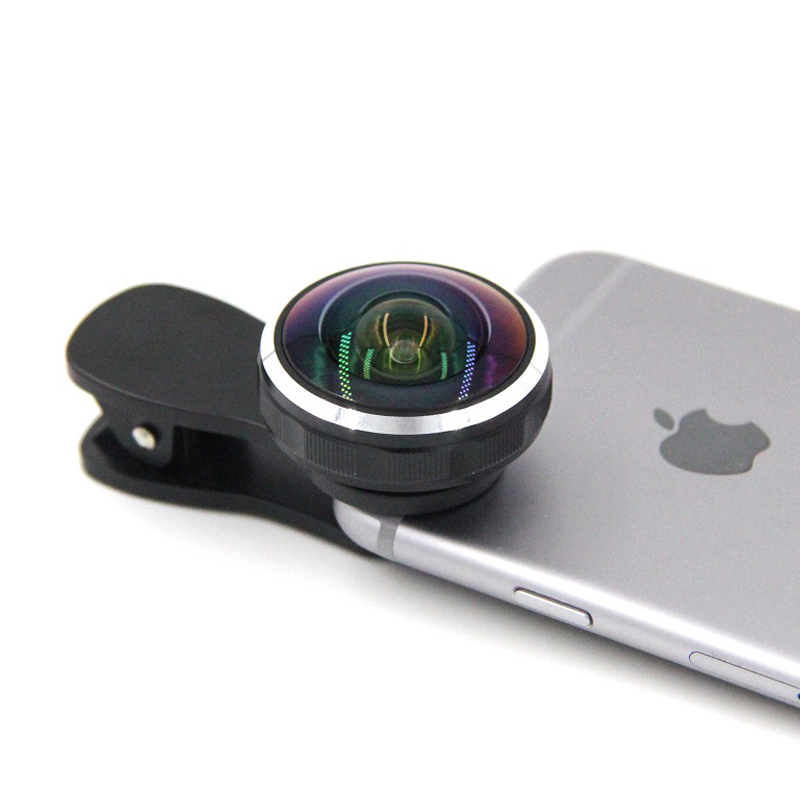 235 degree HD fisheye lens for Iphone,Universal clip fish eye lens for smart phone camera,mobile