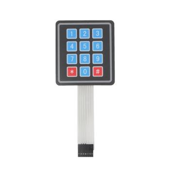 OEM Professional Customized High Quality electronic weighing scale membrane switch keypad