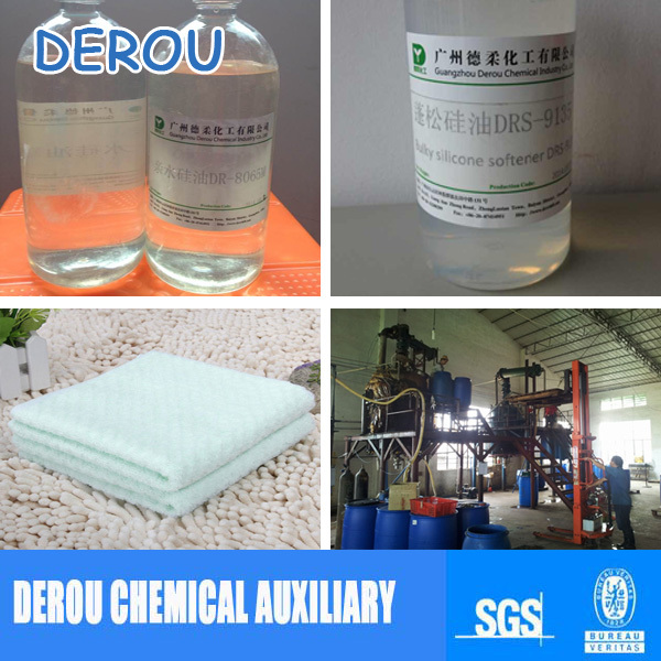 Textile Chemical,Good quality Hydrophilic Silicone Micro Emulsion DR-8065