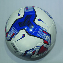Promotional price wholesale laser PVC/PU/TPU football soccer ball