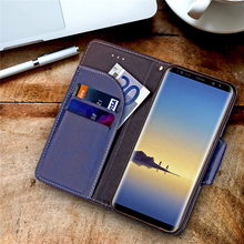 2017 Hot Selling Amazon Original Design wallet leather Case for Samsung Note8 case, for Samsung Note8 leathe case