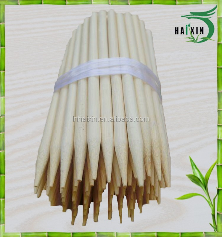stick warning label on each bag model#5540 diameter 5.5 mm length 40 cm bamboo skewers for kids