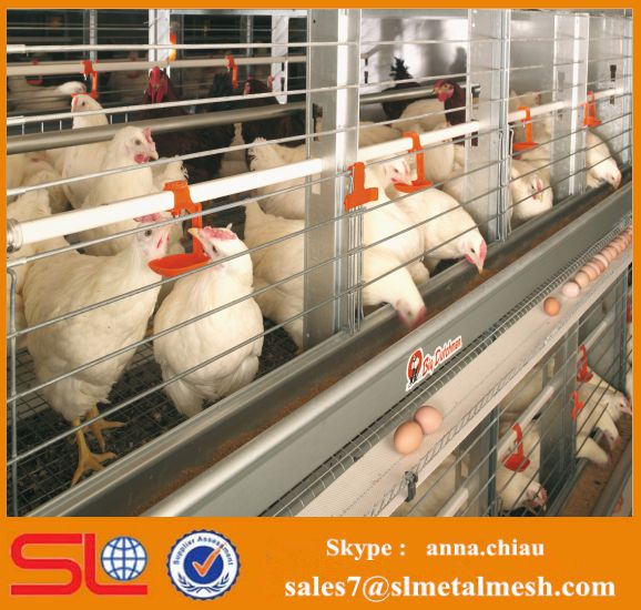 New design Layer chicken cage poultry battery cage system