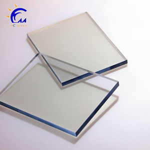 Unbreakable PC building material 6mm plastic solid flat polycarbonate sheet