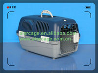 Best prices Plastic Pet Airline dog Carrier portable dog cages
