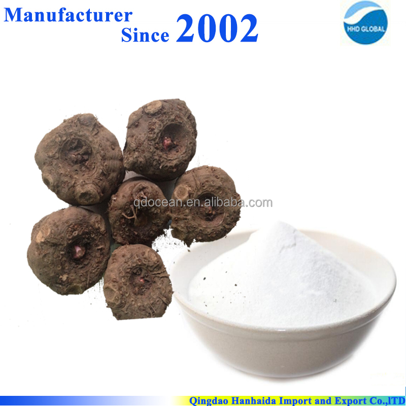 Factory supply top quality Konjac gum/ konjac powder ,CAS no 37220-17-0 with reasonable price and fast delivery!!