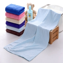 New Arrival Super Absorption Microfiber Bath Towel In Different Color