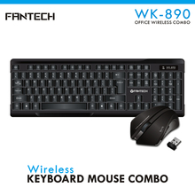 Fantech New Design bluetooth computer laptop keyboard with usb port wireless keyboard mouse combo