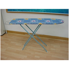 EP-48AH folding deluxe wall-mounted 4-leg top ironing board with iron rest