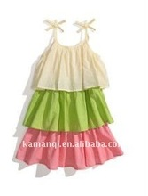 Cute Baby Summer Dress Flower Girl Dresses Fashion Girl Dressing New Style Infant Cloth