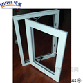China Conch brand pvc profile 3 panel triple pvc casement window