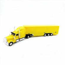 YL8726 OEM 23cm length peterbilt metal truck model,die cast toy truck,scale 1:87 model truck toy