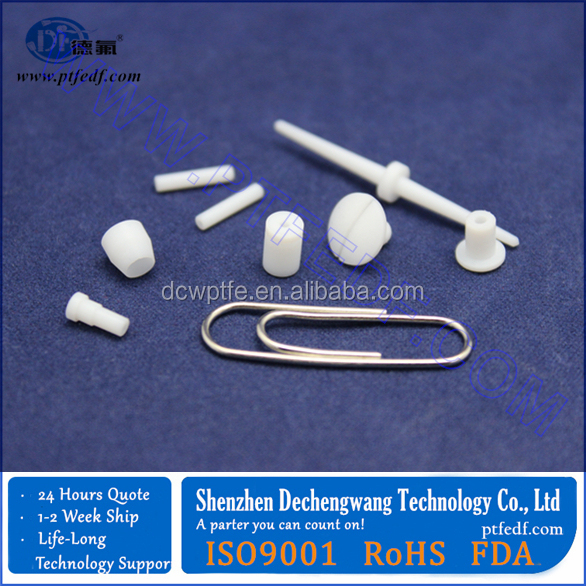 custom make per drawing or sample ptfe component