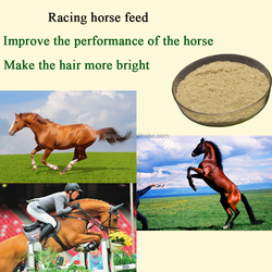 The horse bio probiotics feed supplements