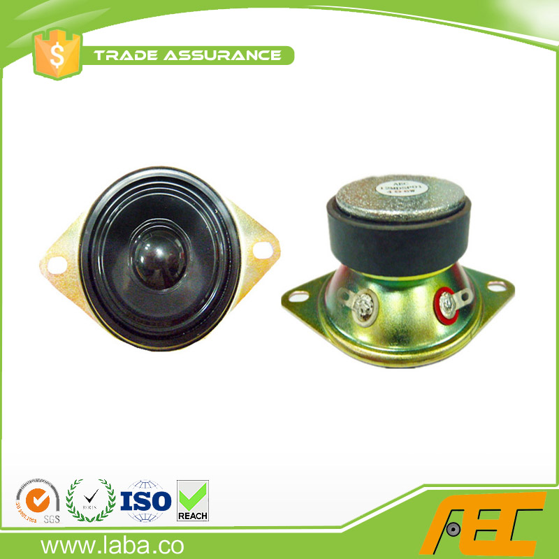 free sample 50mm speaker parts 2inch 4 ohm 6w mini speaker for line array system