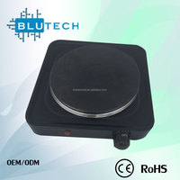 Foshan CE/ROHS Certificate 1500W Single Electric Soild Electric Cooker