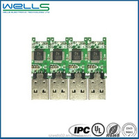 China Low Cost PCBA Manufacturing / Usb Flash Ddrive Pcb Assembly