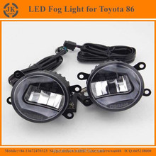 Hot Selling High Quality Osram LED Fog Light for Toyota 86 Car Specific Auto Fog Light for Toyota 86 with LED DRL