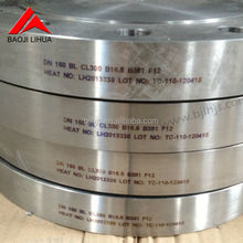 ASTM B381 Gr7,Titanium astm flange dn200 pn10 for chemical industry