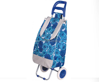 newest style high quality trolley picnic cooler bag with wheels