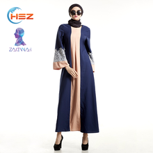 Zakiyyah E015 Latest Designs Sexy Muslim Kaftan Fashion 2017 Women Long Sleeve Maxi Abaya Burqa Models Dubai Wholesale India