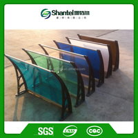 Sunshade And Waterproof Polycarbonate Canopy Polycarbonate Awnings