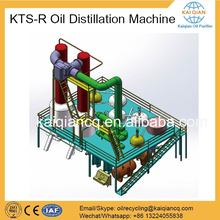 Complete line used car oil recycling machine