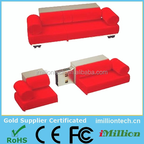 couch shaped usb flash drive, sofa usb memory china, sofa shape usb 8GB