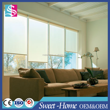 Fancy Curtain Track Roller Blinds With Shade Tube For Windows