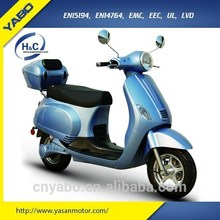 EEC Vespa electric scooter 2000w ROMA SUNNY cabin optional 60V/20Ah motorized scooter 45km/h classic motorcycle for teenagers