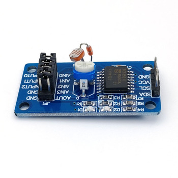 Analog to Digital to Analog Conversion C PCF8591 AD/DA Converter Module