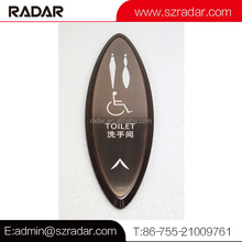 Toilet Sign Room Indicator/Room Decorative Bathroom Signs/Hotel Room Sign