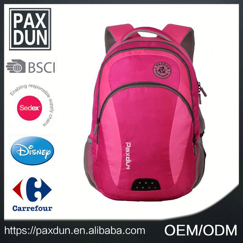 Young Girls Light Pink Stylish Multi High Quality Low Cost Backpack