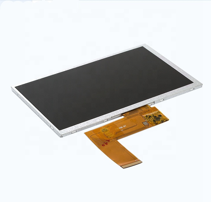 High quality portable 800x480 7 inch lcd tft screen video <strong>display</strong> brochure